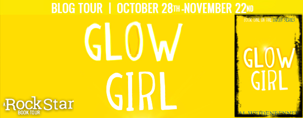 Blog Tour: Glow Girl by M. Weidenbenner // Review + Giveaway // Rock Star Book Tours