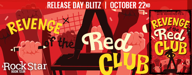 Revenge of the Red Club by Kim Harrington – Excerpt + Giveaway // Release Day Blitz by Rockstar Book Tours