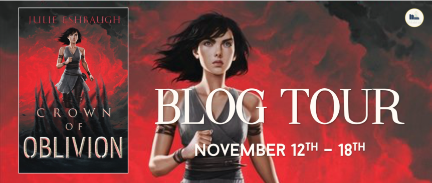 Blog Tour: Crown of Oblivion by Julie Eshbaugh // Book Review + Favorite Quotes + Giveaway // Fantastic Flying Book Club Tours