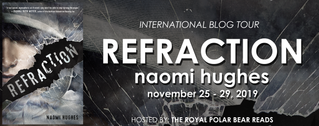 Blog Tour: Refraction by Naomi Hughes // Book Review