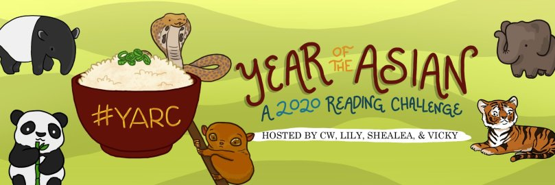 I'm Joining The Year of the Asian 2020 Reading Challenge! #YARC2020