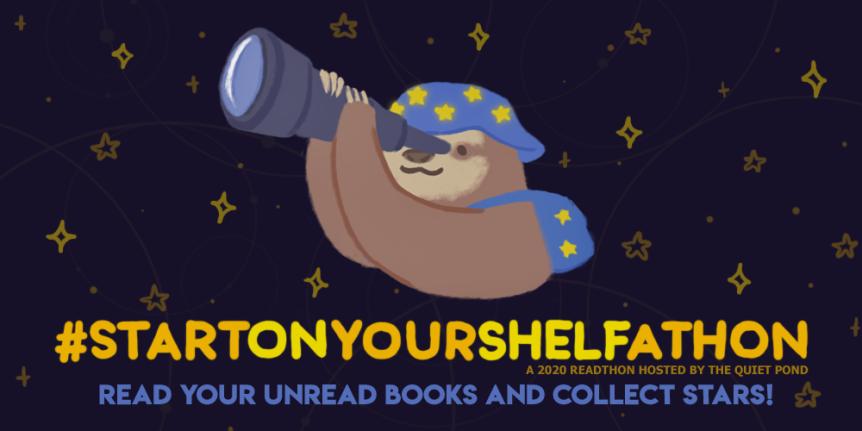 I'm Joining #StartOnYourShelfathon !