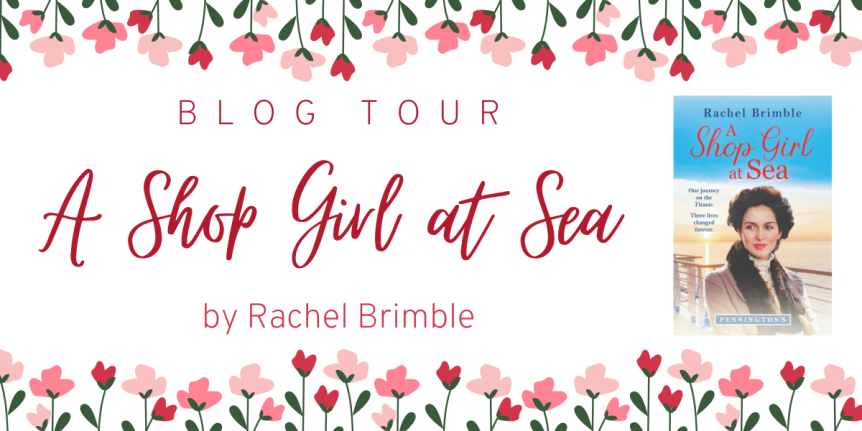 Blog Tour: A Shop Girl At Sea by Rachel Brimble