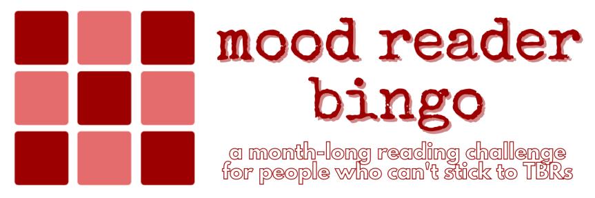Mood Reader Bingo 2021 | Readathon AnnouncementPost